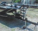 Boat hitch and trailer